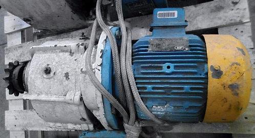 Motorreductor de 3.7 kw y 1715 rpm #146