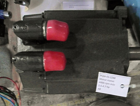 Servomotor 4000 rpm máx, 3.5-4.7 hp #1288