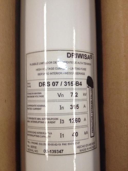 Fusible limitador de corriente de alta tensión DRS 07/315-B4 #193