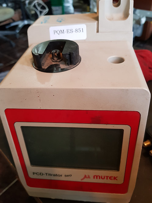 Detector de carga PCD-TITRATOR TWO #851