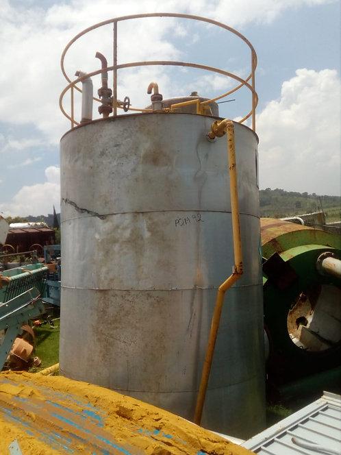 Tanque de combustible 2.30 m de diámetro x 4,40 m de altura #092