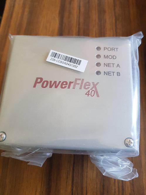 Cubierta del adaptador de comunicaciones PowerFlex 40/400/40P #233