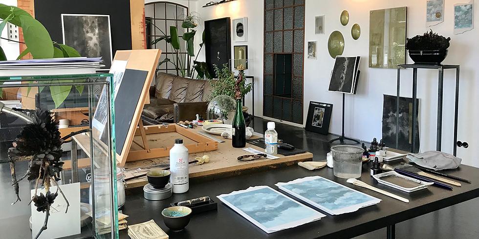 Visite de l'atelier Mireille ROBBE