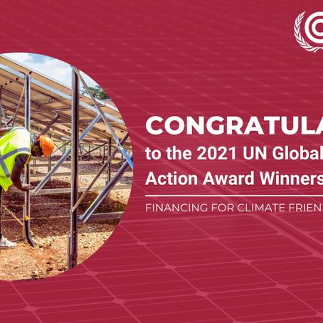 SunFunder wins UN Global Climate Action award
