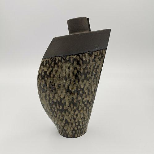 Large 'Fish scale' design vase