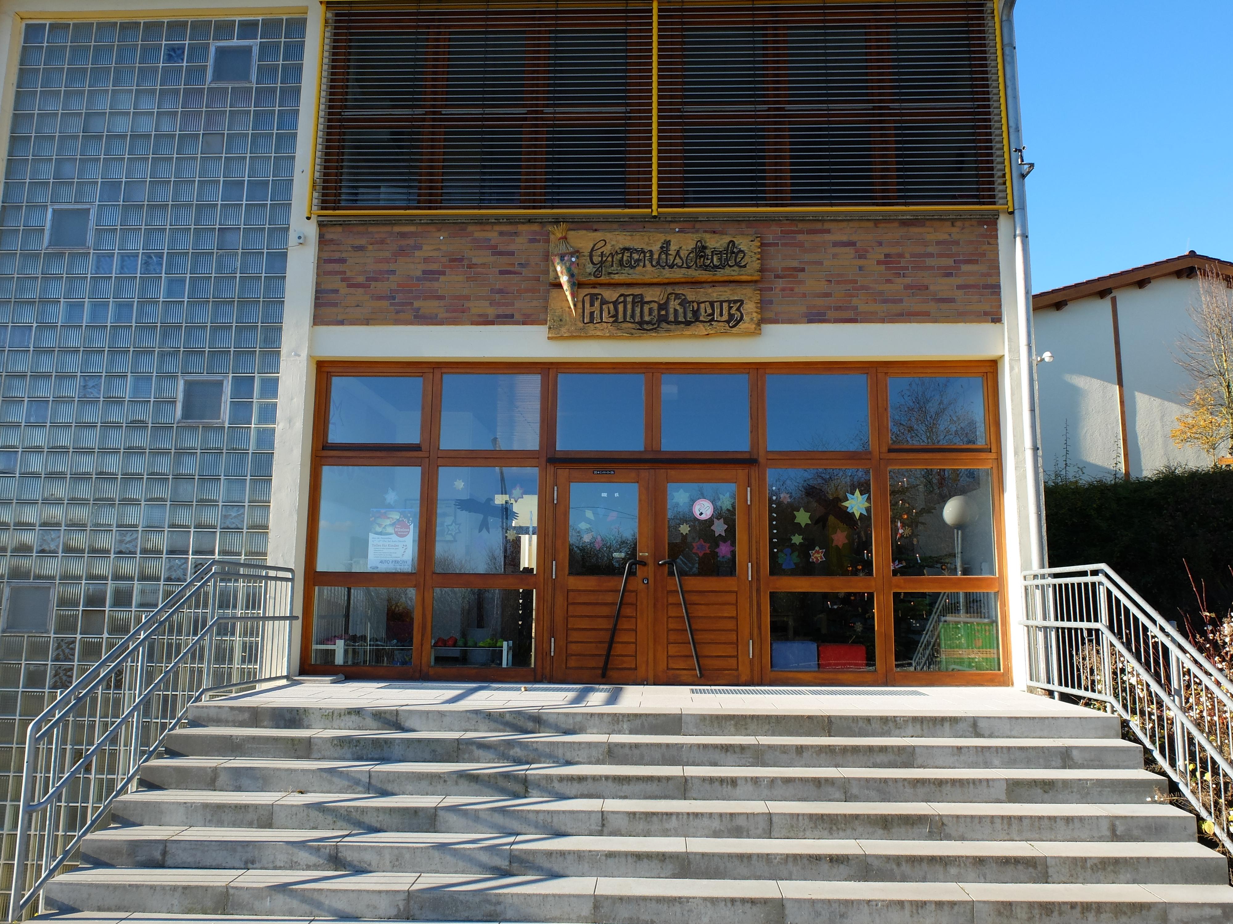 Eingangsbereich der Schule