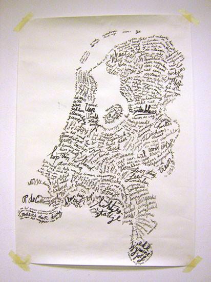 Client: Annelys de Vet / Subjective Atlas of the Netherlands
