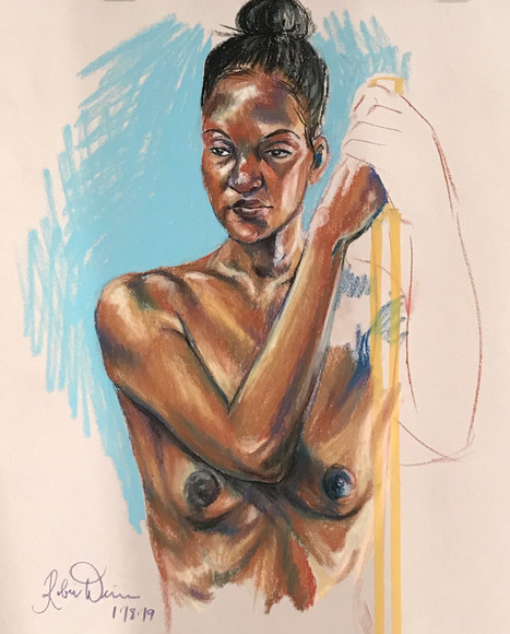 Standing nude (#6)
