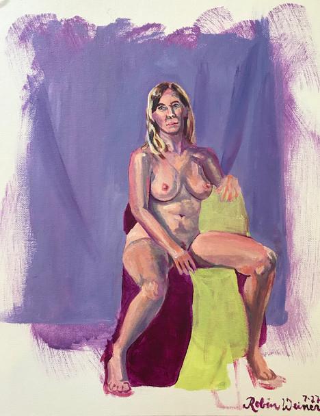 Seated Nude (#1)