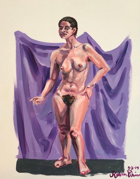 Standing nude (#11)