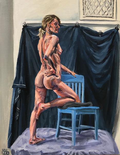 Standing nude (#21)