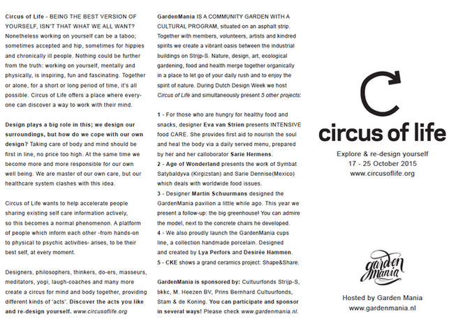 Client: Circus of Life, DDW