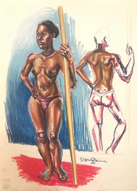 Standing nude (#14)
