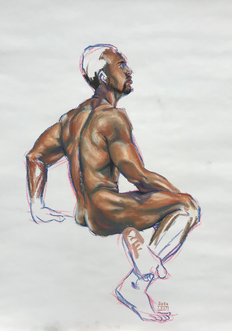 Seated nude (#22)