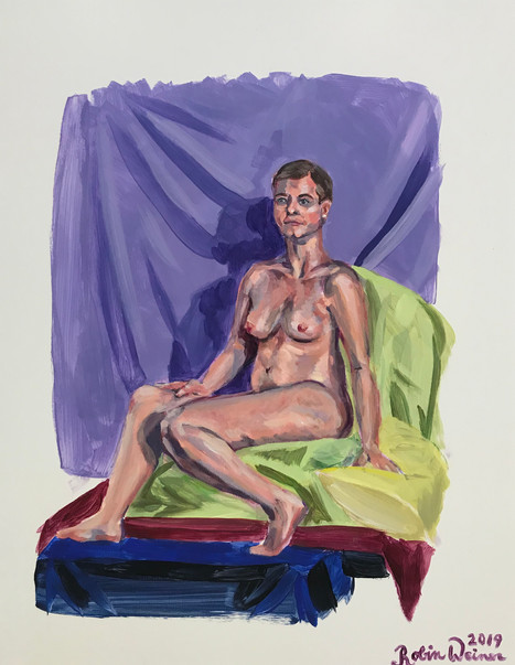Seated nude (#20)