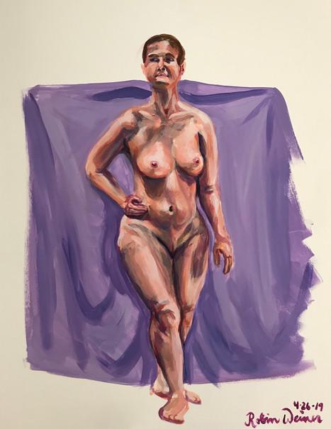 Standing nude (#10)