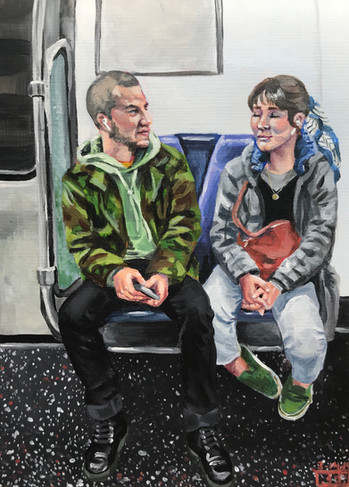 Lovers on the Metro (#3)