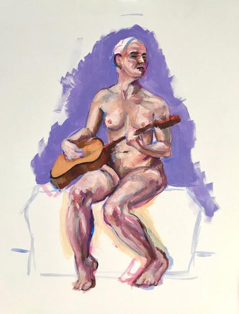 Guitarist nude (#18)