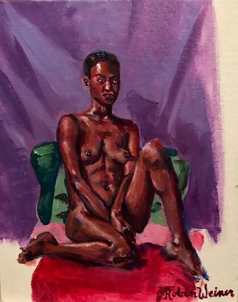 Seated nude (#3)