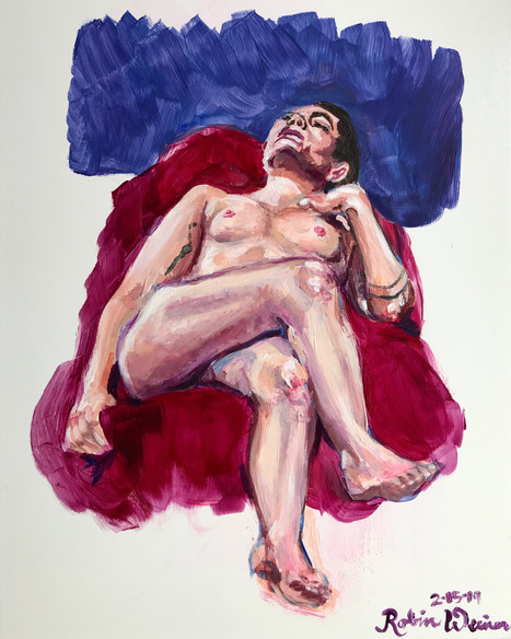 Reclining nude (#7)