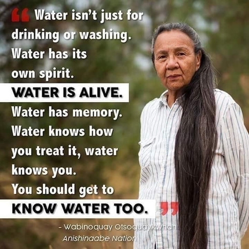 water is alive