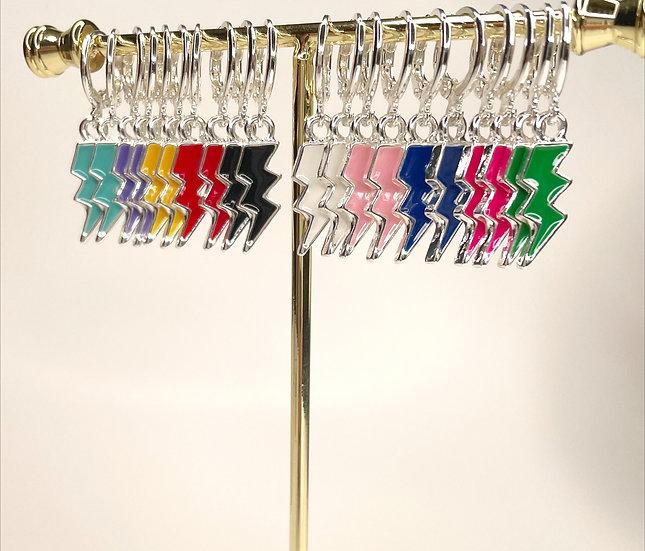 Silver Bolts - Choose a color