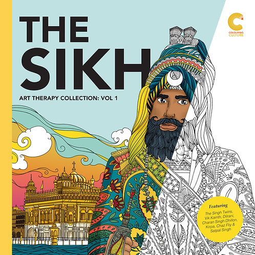 'Author Signed' The Sikh Art Therapy Collection Vol: 1