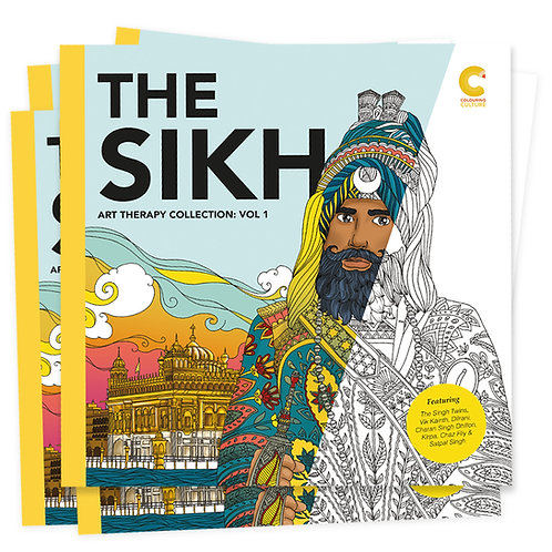 The Sikh Art Therapy Collection Vol: 1 // 5 Book Bundle