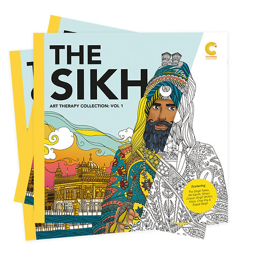 The Sikh Art Therapy Collection Vol: 1 // Buy 2 Get 1 Free