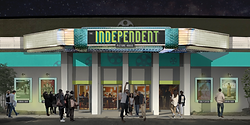 Rendering of the Independent Picture House community cinema.