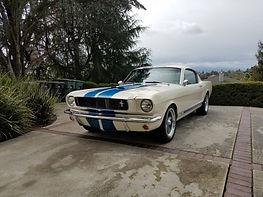 1965 | Fastback | White/Blue
