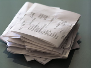 Managing expense receipts using 1Tap