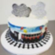 #choochoolookwhostwo  #traincake #2ndbir