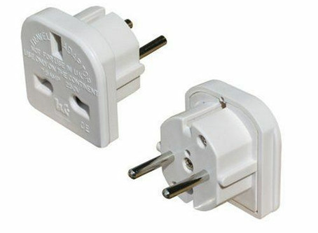 MIPIM Tip #9 -  Travel Adaptors
