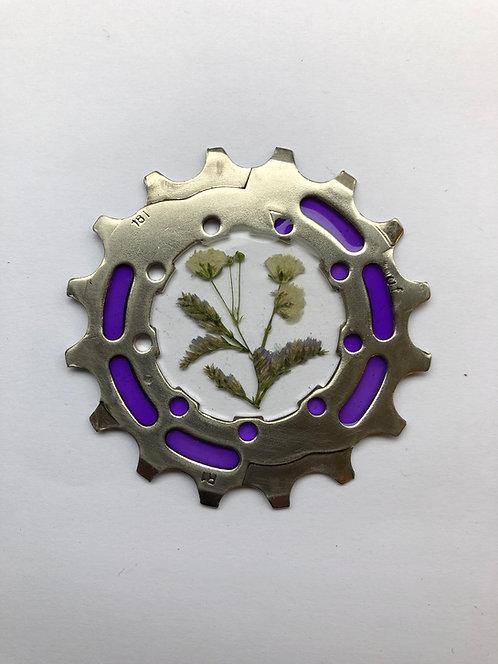 Hand Made Bike Inspired Pendant/Key Ring
