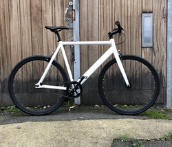 White 6KU Single Speed/Track/Fixie AVAILABLE NOW IN 2 SIZES