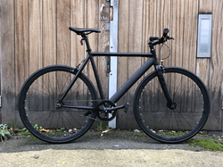 Black 6KU Single Speed/Track/Fixie £425 AVAILABLE NOW IN 2 SIZES