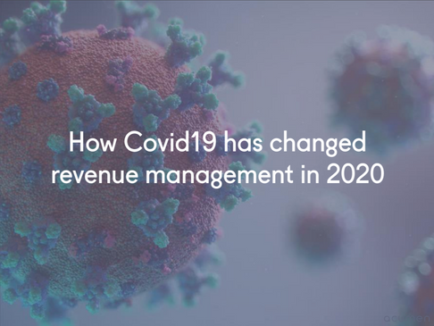 How Covid 19 has changed revenue management in 2020