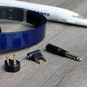 SmartGo Airjet Airplane Headphone Audio Adapters