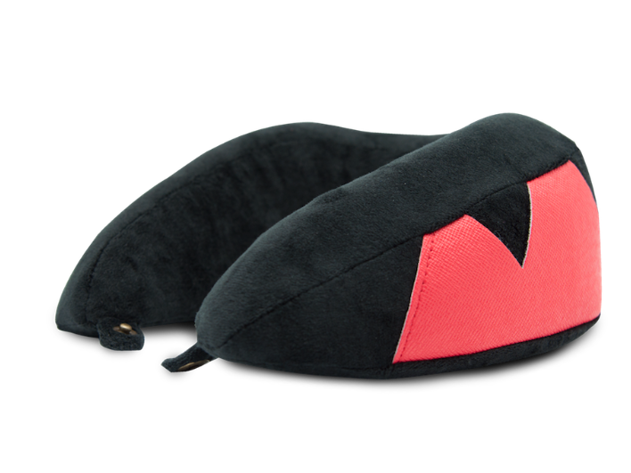 SmartGo ROLL Travel Neck Pillow Black