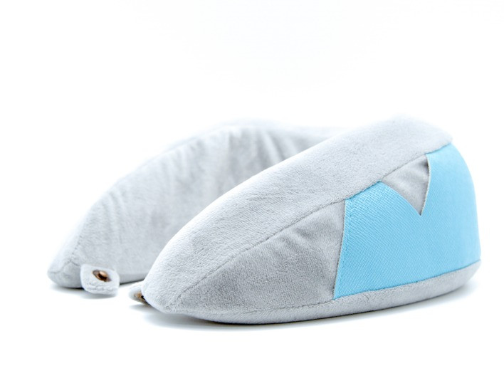 SmartGo ROLL Travel Neck Pillow Grey
