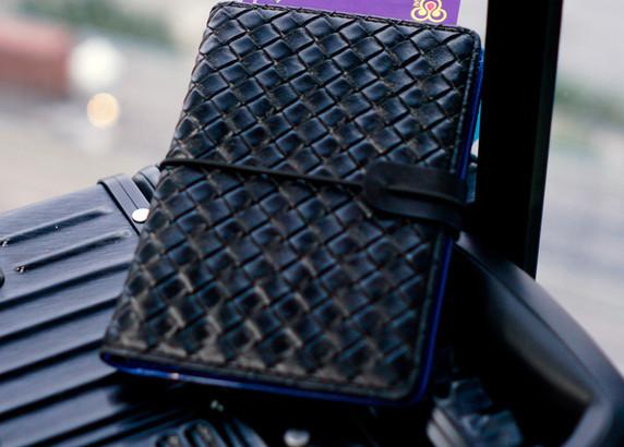 SmartGo LUX Passport Holder, on the go
