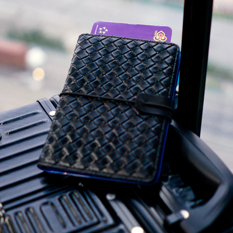 SmartGo LUX Passport Holder, on the go