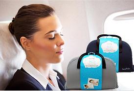 SmartGo TACO Travel Pillow Grey & Navy