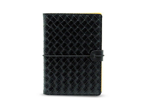 LUX Passport Holder Black