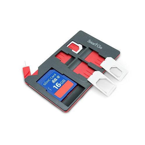 SmartGo SIM & SD Combo organizer Black