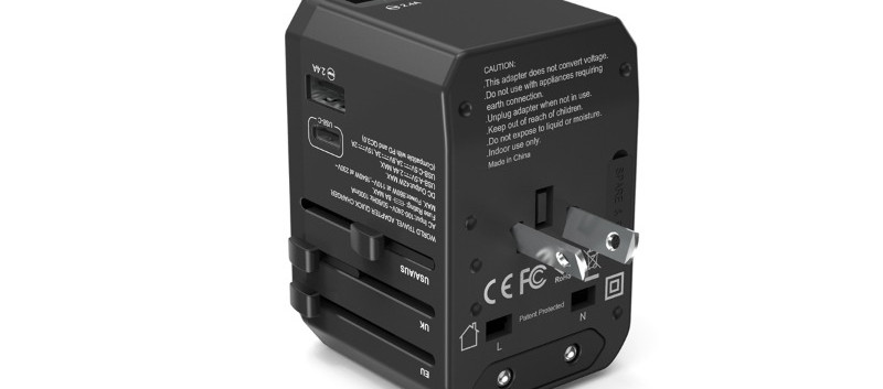 PD308 Universal Travel Adapter AU
