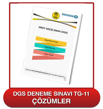 TG DGS Deneme Sınavı-11