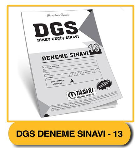 DGS Deneme 13 Çözümleri