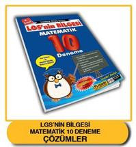 LGS'nin Bilgesi Matematik 10 Deneme